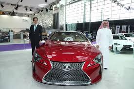 lexus lfa inside lexus lc 500 at the qatar motor show maqina middle east