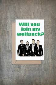 will you join my wolfpack card will you be my groomsmen card