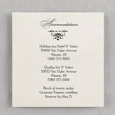 wedding invitations details card wedding accommodation card printed creations wedding store