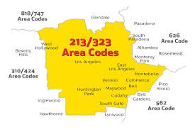310 area code of us are you in the 213 or 323 area code prepare to change how you