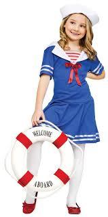 Kids Cheerleader Halloween Costume Cool Sailor Costume Girls Children Kids Costumes