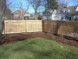 wood lattice fence crowdbuild for