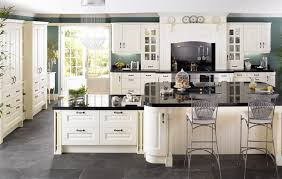 home design black appliances and white kitchen cabinets on