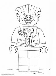lego robin coloring pages