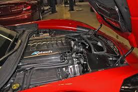 supercharged c7 corvette katech track attack engine package gives c7 corvette lt1 650