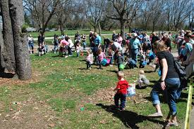 04 09 2017 150 children partake in east egg hunt front page