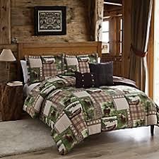 lodge style bedding u0026 bedding sets lodge curtains bed bath u0026 beyond