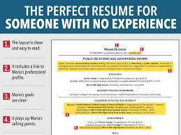 college graduate resume no experience resume for job seeker with no experience business insider