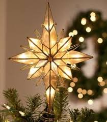 lighted christmas star tree toppers star tree topper christmas