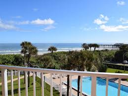 direct oceanfront view of pool ocean homeaway cocoa beach