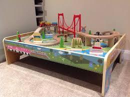 carousel train table set carousel wooden train table set good as new in swindon