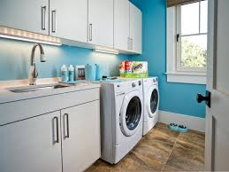 laundry room blue paint ideas