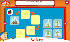 caillou learning kids android apps google play