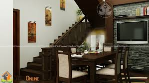 kerala home interiors marvelous living dining contemporary budget home interior design
