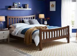 sherwood walnut wooden bed frame dreams