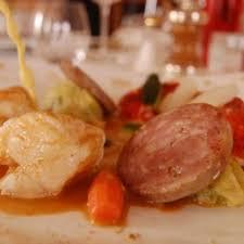 homard cuisine duo de homard et lotte à l auvergnate cuisine plurielles fr