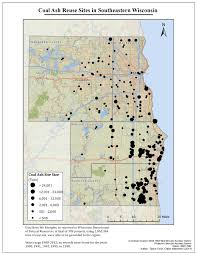 Map Of Northern Wisconsin environmental group links u0027beneficial reuse u0027 of coal ash to