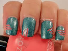 i feel polished striping tape nail art