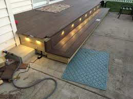 Outdoor Soffit Recessed Lighting by 6pcs 45mm 12v Outdoor Yard Kickboard Led Deck Soffit Stair Step