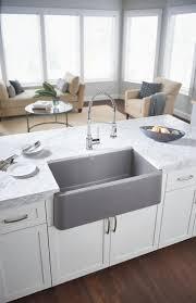 blanco metallic gray sink blanco 401734 ikon 30 apron front sink qualitybath com