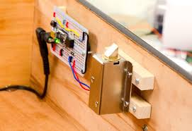 How To Install A Lock On A Cabinet Door Installation Secret Knock Activated Drawer Lock Adafruit