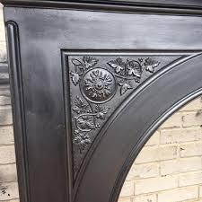 restored cast iron fireplace surround victorian fireplace store
