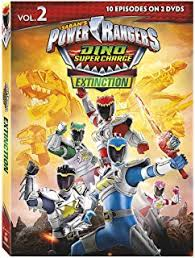 amazon power rangers dino charge breakout dvd digital