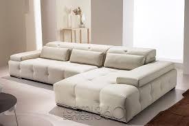 paramount modern leather sectional sofa by gamma arredamenti