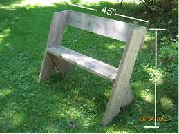free garden bench plans pdf plans diy free download metal wood