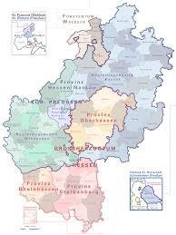 Map Of German States atlas of states of germany wikimedia commons