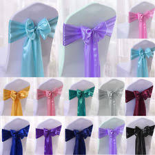 Chair Tie Backs 100 Chair Sashes Venue Decorations Ebay