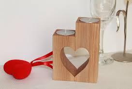 Wood Home Decor Wood Candle Holder Christmas Holders Wedding Gift Tea Light