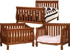Convertible Sleigh Crib Town Oak Hoosier Sleigh Crib