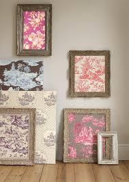 Best  Framed Wallpaper Ideas On Pinterest Wallpaper Panels - Fabric wall designs