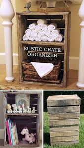 the 25 best rustic toy organizers ideas on pinterest milk crate