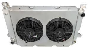 electric radiator fans and shrouds ford bronco radiator aluminum 4 row chion shroud 12 fans