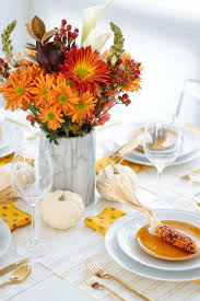 decoration easy table decoration for thanksgiving moments