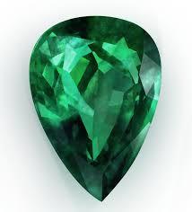emerald drop emerald cut in tear drop cut