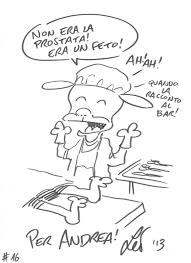 leo ortolani rat man sketch in andrea attard u0027s commissions and