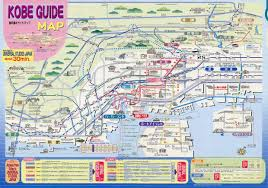 Osaka Subway Map by Kobe Subway Map For Download Metro In Kobe High Resolution Map