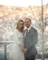 an intimate winter destination wedding in park city utah martha
