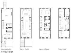 Narrow Townhouse Floor Plans 3 Level Vancouver Luxury Home Floor Plan Town House Pinterest