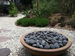 Patio Rocks Modern Patio Wood Burning Fire Pit With Lava Rocks Plus Propane