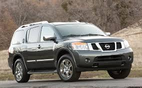 nissan armada platinum 2012 nissan armada platinum 4wd first test truck trend news