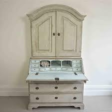 Swedish Secretary Desk by Fine 18th Century Swedish Rococo Secretaire In Furniture
