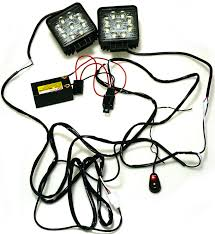 Led Light Bar Wiring Harness by Kawell 2 Leg Wiring Harness Include Switch Kit Support 120w Led