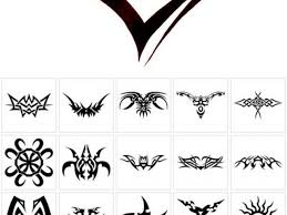 small tribal tattoos and meanings 1000 ideas about tribal