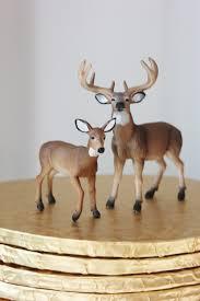 buck and doe cake topper deer cake topper vintage rustic wedding animal buck doe