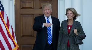 State Of The Union Cabinet Member Not Attending Trump Selects Devos As Education Secretary Politico