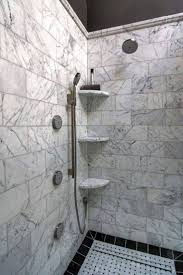 Beveled Subway Tile Shower by Best 25 Shower Corner Shelf Ideas On Pinterest Shower Shower